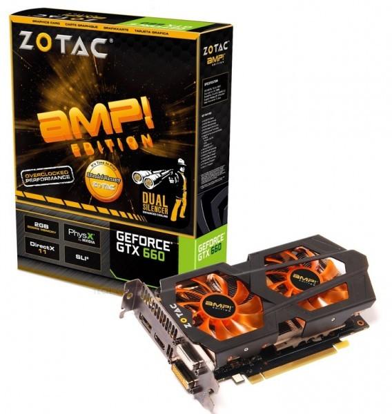 Фотографии грядущей карты памяти GeForce GTX 660 версии AMP Edition