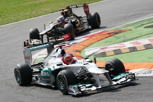 Стратегически важный осмотр Гран При Италии