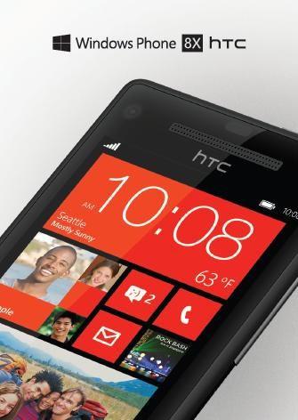 Телефон HTC 8X на базе Виндоус Phone 8 выйдет в начале ноября