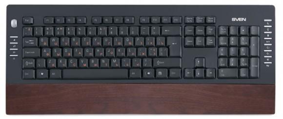 Организация SVEN продемонстрировала свежую клавиатуру SVEN Comfort 4200