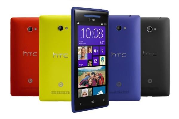 HTC продемонстрировал собственный свежий флагман на  Виндоус Phone 8X