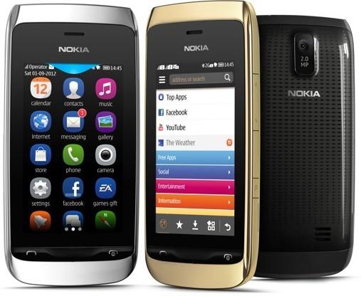 Нокия Asha 308/309: двухсимочный телефон