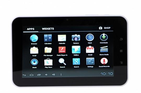 В Индии выходит планшетник Aakash 2 стоимостью $35