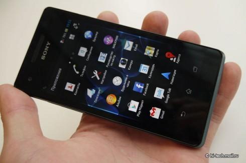 Сони Xperia V: дата начала реализаций 3 января