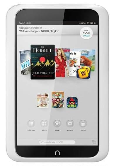 Barnes Noble продемонстрировала 2 модификации - Nook HD и Nook HD+