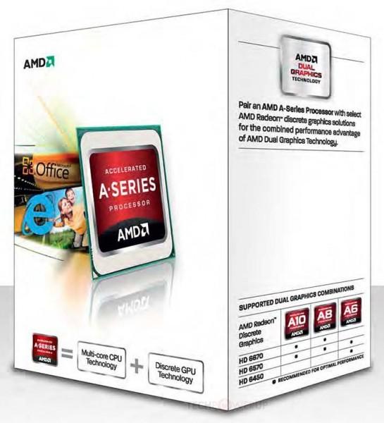 Появились чипсеты AMD Trinity с ядрами Piledriver