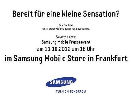 """11 ноября в Франкфурте «Самсунг» делает """"небольшую сенсацию"""""""