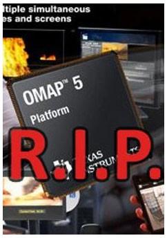 Чипсеты OMAP не имеют интегрированного 3G/4G модема