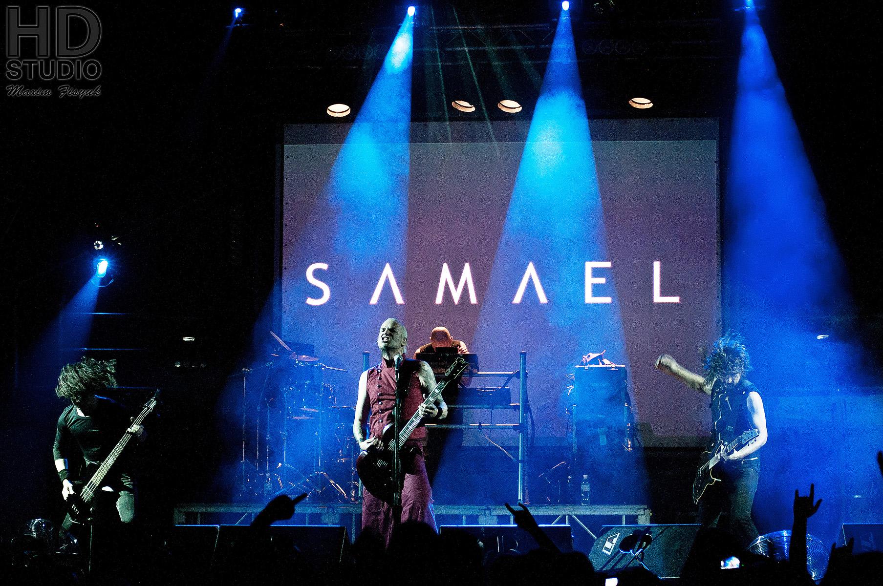 Легендарные швейцарцы Samael выступили в Киеве: отчёт