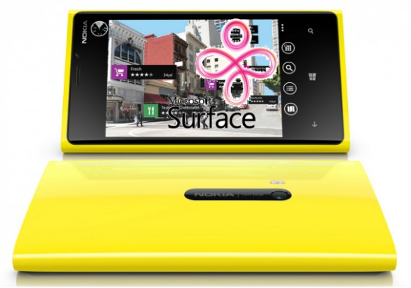 Смартфон Microsoft под управлением Windows Phone 8