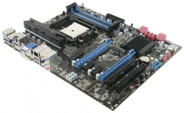 Материнская плата Pure Platinum A85XT от Sapphire Technology