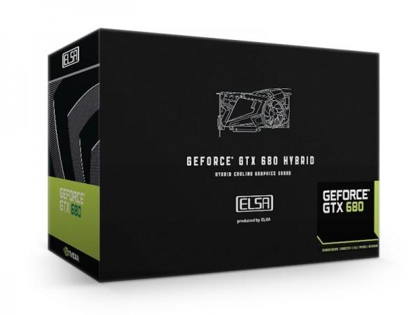 Видеокарта GeForce GTX 680 Hybrid от  ELSA