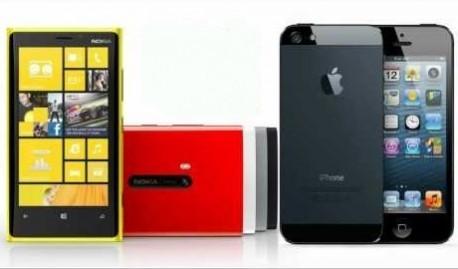 Нокия приравнивает собственные телефоны серии Люмия с Айфон 5