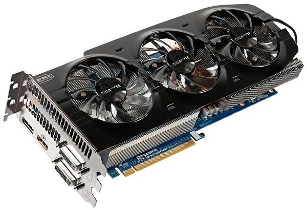 Адаптер Gigabyte GeForce GTX 670 WindForce 3X