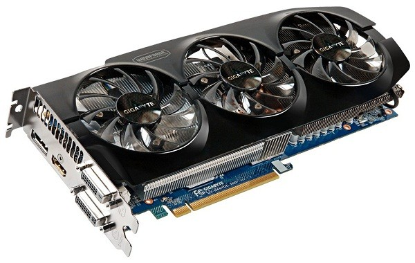 Карта памяти  GeForce GTX 660 Ti WindForce от Gigabyte