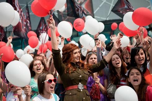 ФОТО: Ксения Марченко в полном восторге от кастинга во Львове