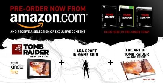 Небольшой выпуск Tomb Raider для Amazon