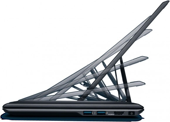Сони продемонстрировала миниатюрный персональный компьютер Сони VAIO Duo 11