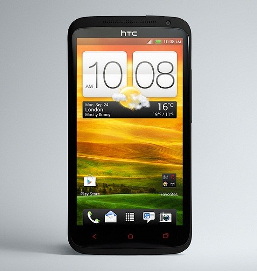 HTC  продемонстрировала свежий передовой телефон One X+