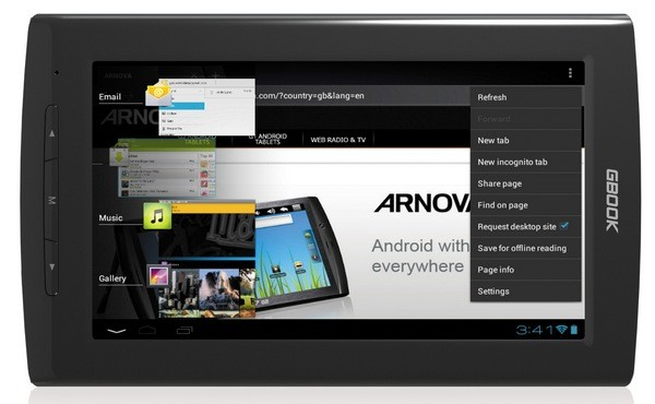 Archos- электронный ридер на базе Андроид 4.0 ICS