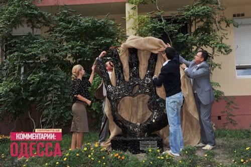 В Одессе  вышел  монумент Стиву Джобсу (ФОТО)