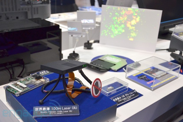 Самый узкий лазерный проектор от компании Sony