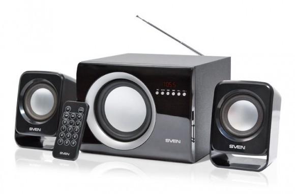 SVEN продемонстрировала акустику формата 2.1