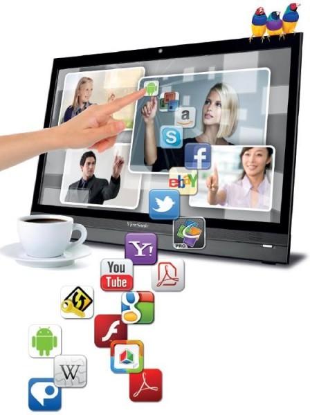 Жидкокристаллический смарт-дисплей на ОС Андроид