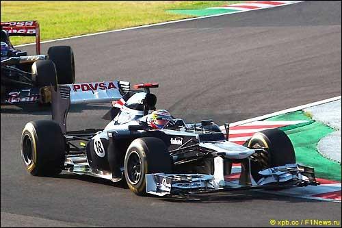 Объяснения после автогонки Гран При Японии