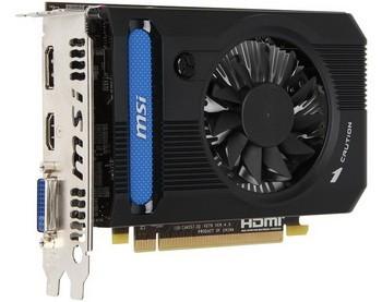 МSI продемонстрировала карту памяти Radeon HD 7750