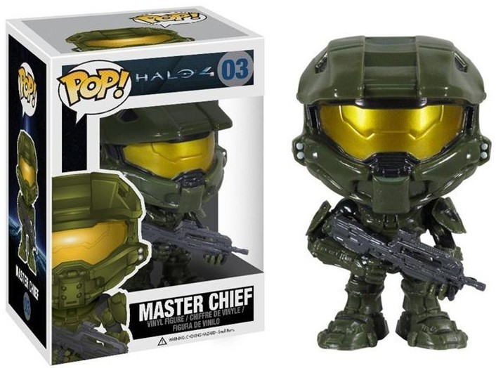 Свежее видео и фигуры героев Halo 4 от Funko Pop