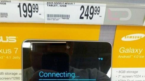 Google снизила стоимость микропланшетов Nexus 7