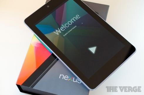 Google продемонстрировала Nexus 4, Nexus 7 3G и Nexus 10