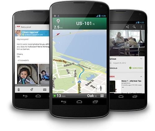 Nexus 4: свежий производительный гуглофон