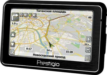 Наводчик Prestigio GeoVision 5266 был замечен на лавках РФ