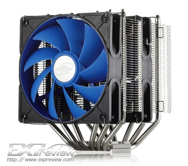 Экстремальный вентилятор от компании Deepcool Industries