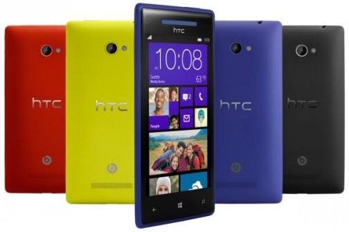 Первые телефоны HTC работающие на Виндоус Phone 8