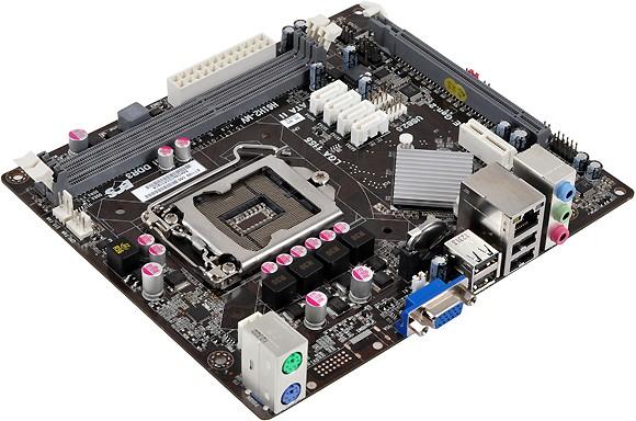 Оперативная память ECS H61H2-MV от Elitegroup