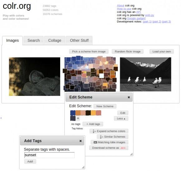Веб-сайтом дня оглашается сервис Colr.org