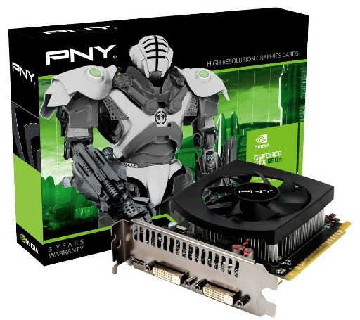 GeForce GTX 650 Ti :новее решение от PNY