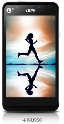 ZTE объявил телефон U950 за 160 долларов США