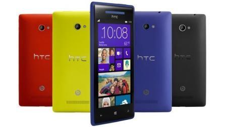 Стартовали реализации передового телефона HTC 8X