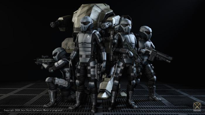 Свежий Kickstarter проект - шутер Interstellar Marines