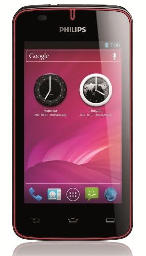 Philips объявила свежий телефон W536