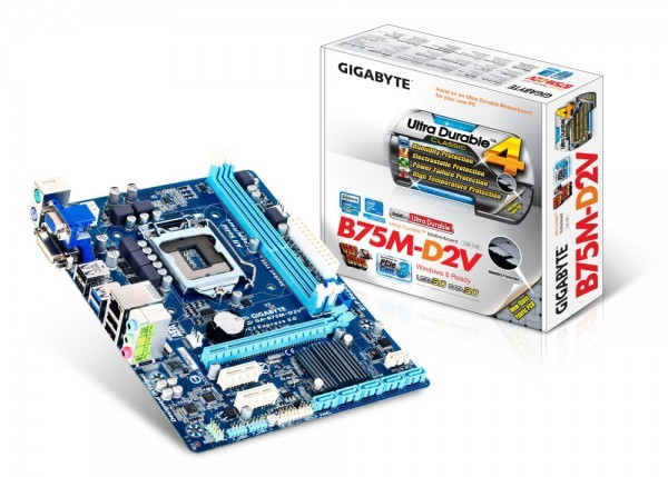 Gigabyte Technology предлагает оперативную память B75M-D2V