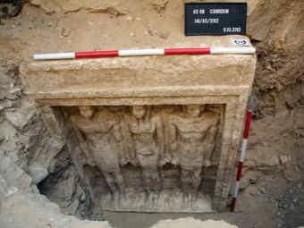 В Каире обнаружили древнюю могилу египетской принцессы