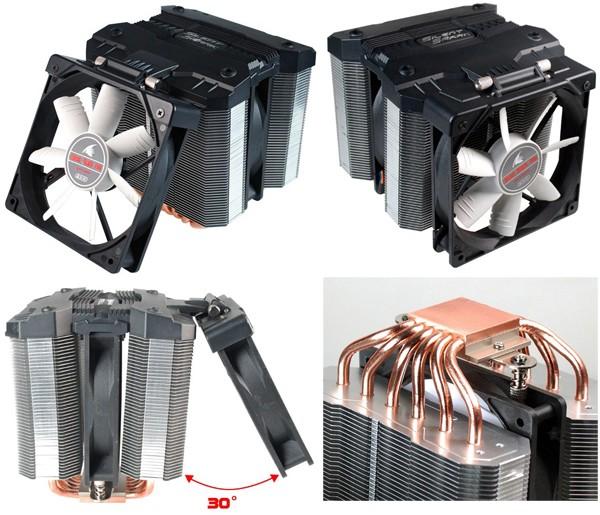EVERCOOL произвела микропроцессорный вентилятор Silent Shark