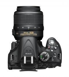 Nikon продемонстрировала зеркальную камеру D5200