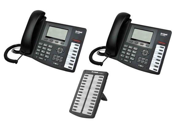 D-Link продемонстрировала функциональные IP-телефоны