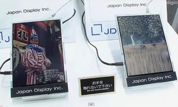 Japan Display продемонстрировала цветной бессознательный LCD-дисплей